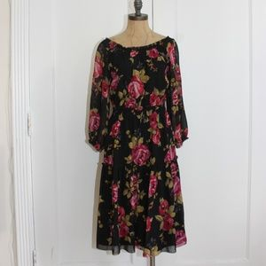JOIE FLORAL PRINT DRESS